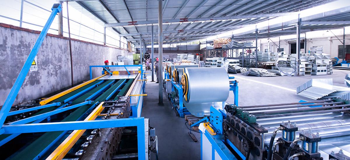 工厂规模化生产,数条自动化生产线