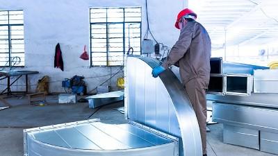 鲁海暖通-产品组装车间